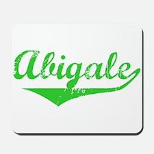 Abigale Vintage (Green) Mousepad