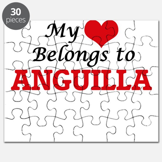 My Heart Belongs to Anguilla Puzzle