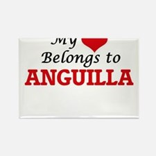 My Heart Belongs to Anguilla Magnets
