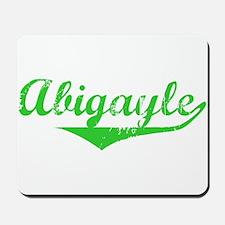Abigayle Vintage (Green) Mousepad