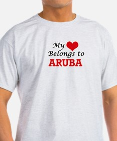 My Heart Belongs to Aruba T-Shirt