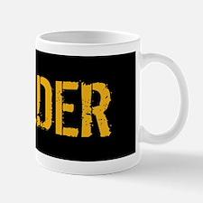 Welding: Stencil Welder (Black & Gold) Mug