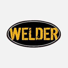 Welding: Stencil Welder (Black & Gold) Patch