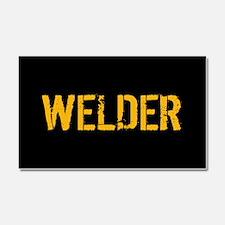 Welding: Stencil Welder (Black Car Magnet 20 x 12