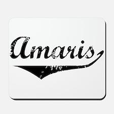 Amaris Vintage (Black) Mousepad