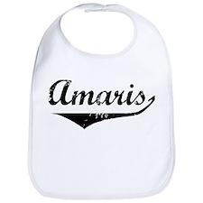 Amaris Vintage (Black) Bib