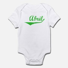 Abril Vintage (Green) Infant Bodysuit