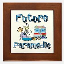 Future Paramedic Framed Tile