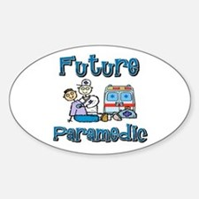 Future Paramedic Oval Decal