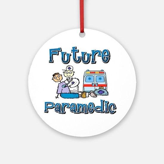 Future Paramedic Ornament (Round)