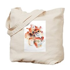 2 Kittens, So Cute! Tote Bag