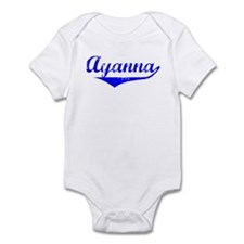 Ayanna Vintage (Blue) Infant Bodysuit