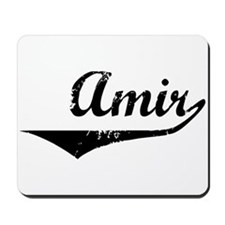 Amir Vintage (Black) Mousepad