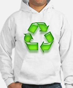 Neon Recycle Sign Hoodie