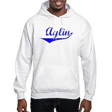 Aylin Vintage (Blue) Hoodie Sweatshirt