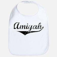 Amiyah Vintage (Black) Bib