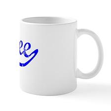Bailee Vintage (Blue) Small Mug