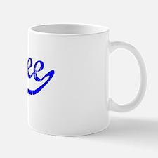 Bailee Vintage (Blue) Small Small Mug