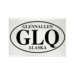 Glennallen Rectangle Magnet (10 pack)