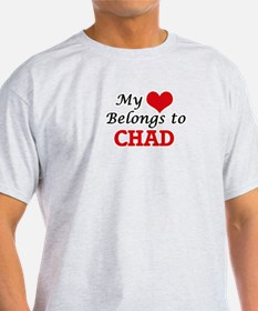 My Heart Belongs to Chad T-Shirt