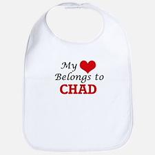 My Heart Belongs to Chad Bib