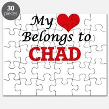 My Heart Belongs to Chad Puzzle