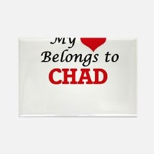 My Heart Belongs to Chad Magnets