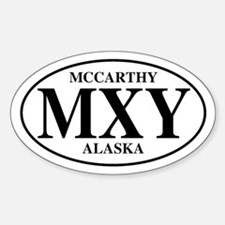 McCarthy Oval Decal