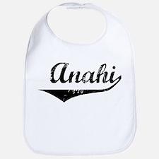 Anahi Vintage (Black) Bib