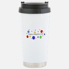 Happy Adoption Day Travel Mug