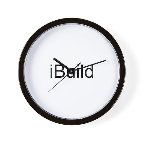 iBuild Wall Clock