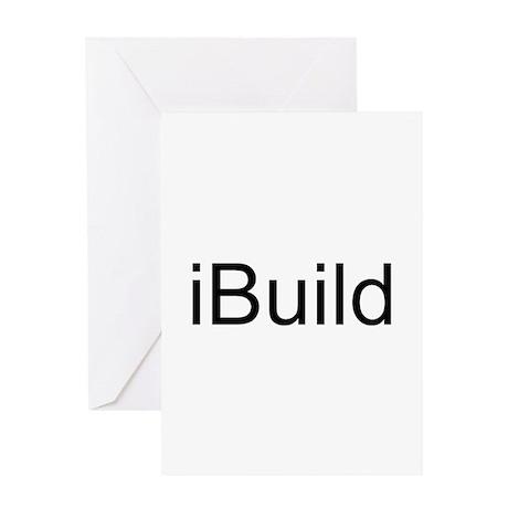 iBuild Greeting Card