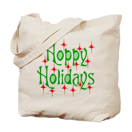 Hoppy Holidays Tote Bag