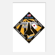 STS 124 Postcards (Package of 8)