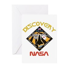 Discovery STS 124 Greeting Cards (Pk of 10)