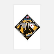 STS 124 Rectangle Decal