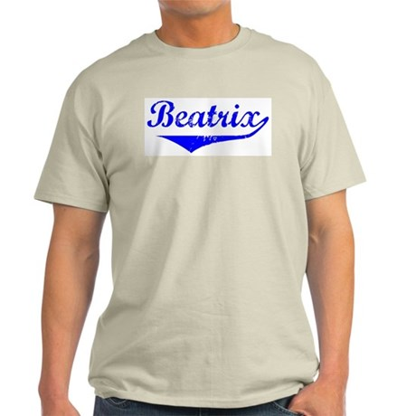 Beatrix Vintage (Blue) Light T-Shirt
