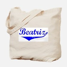 Beatriz Vintage (Blue) Tote Bag