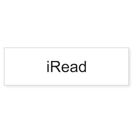 iRead Sticker (Bumper)