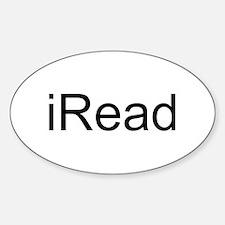 iRead Sticker (Oval)