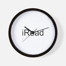 iRead Wall Clock