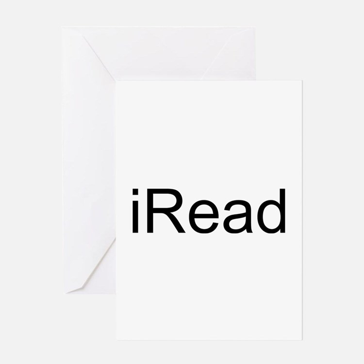 iRead Greeting Card