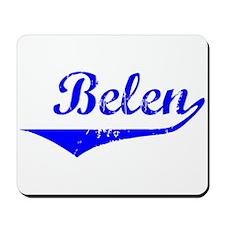 Belen Vintage (Blue) Mousepad