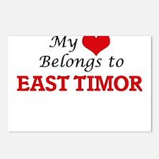 My Heart Belongs to East Postcards (Package of 8)