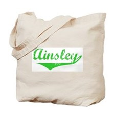 Ainsley Vintage (Green) Tote Bag