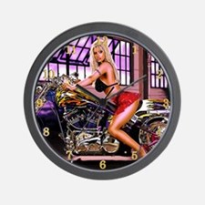"""Harley Honey"" Wall Clock"