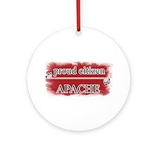 Citizen Apache Ornament (Round)
