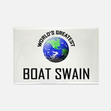 World's Greatest BOAT SWAIN Rectangle Magnet