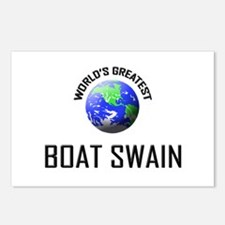 World's Greatest BOAT SWAIN Postcards (Package of