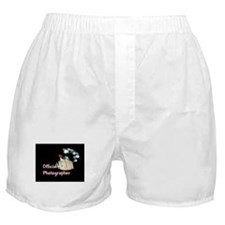 Official Photographer Boxer Shorts